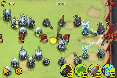 Trucos de Fieldrunners (aclamado juego de iPod Touch/iPhone)
