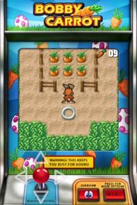 Игра про кролика собирающего морковку старая