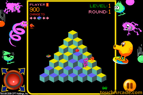 qbert_arcade_in-game exclusive