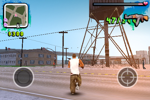 gangstar screen