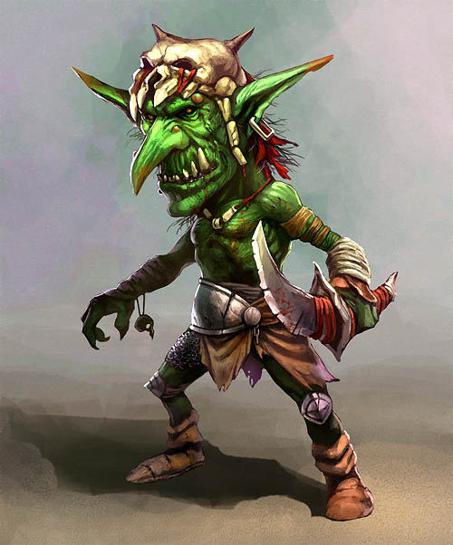 Concept art for Goblin