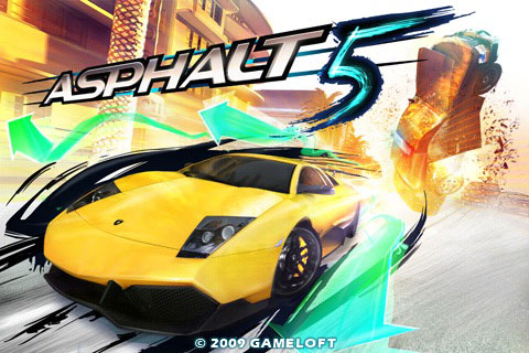 Asphalt 5 3d Nitro Rush mode