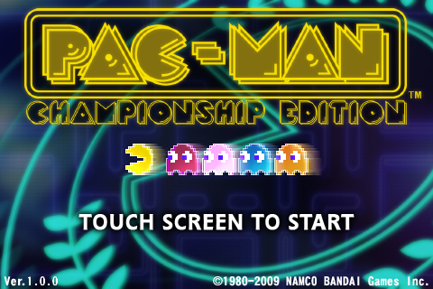 Pac-Man C.E. title
