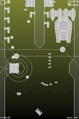 Space Invaders Infinity Gene game which we reviewed back in July.