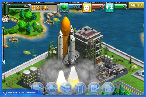 Virtual City Shuttle Launch