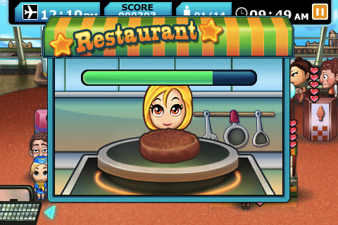 Airport Terminal Cooking Mini-Game