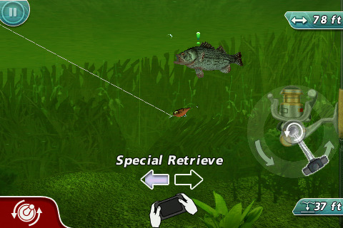 Rapala Fishing Hooking Gameplay
