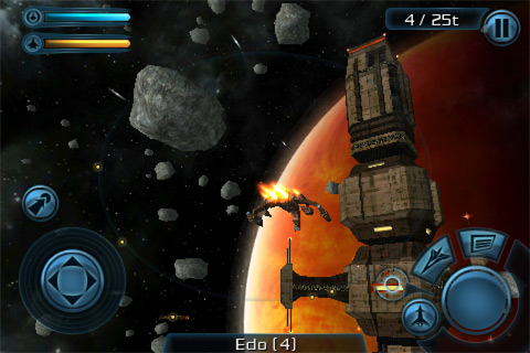 Space games like Galaxy on Fire 2 but multiplayer : iosgaming