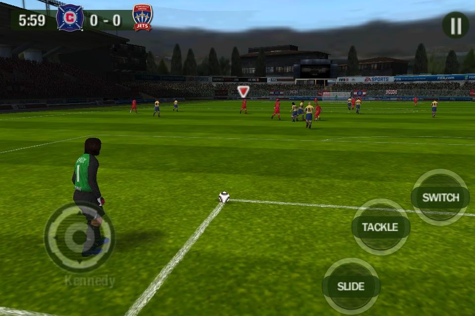 Fifa 10 для android