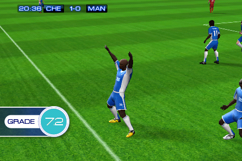 Yay, Anelka Scores in Non-Retina!