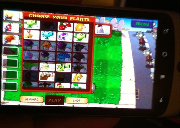 Коди На Plants Vs Zombies На Android