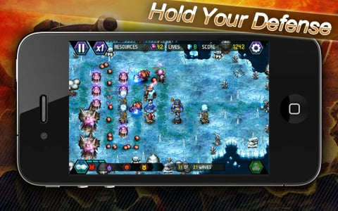 Tower Defense Graphics Expect in a Tower Defense