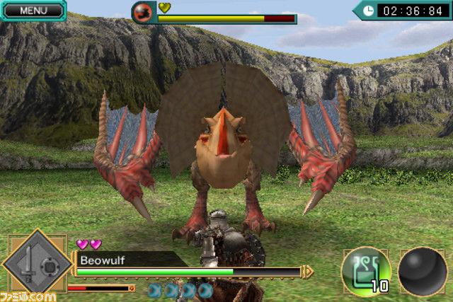 "screen2 ""Monster Hunter: Dynamic Hunting"" chega em Junho para iOS"