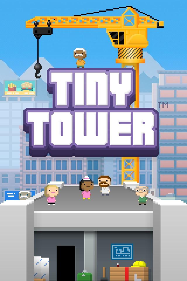 Ipad new games  Tiny Tower Tt1