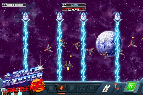 space shooter games list