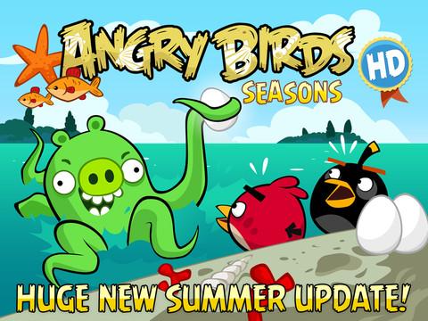 Angry birds seasons hd - фото 10