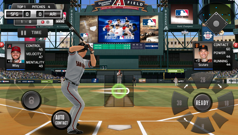 Ready for a real baseball sim on mobile gamevil s mlb perfect inning