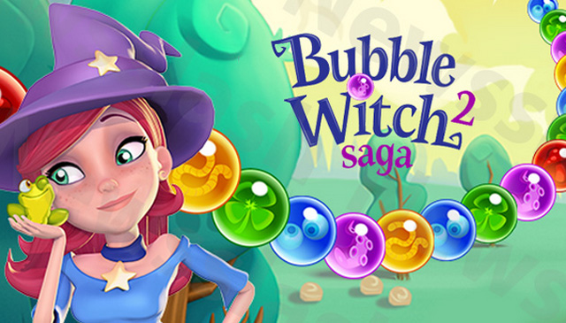 free bubble witch game