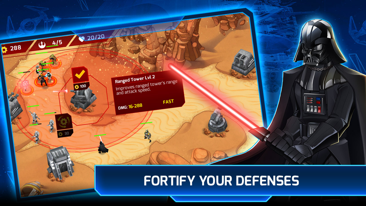 Star Wars™: Galactic Defense (by DeNA Corp) - iOS ...