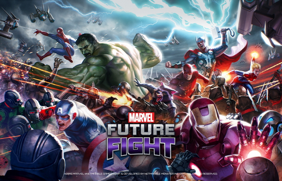 'Marvel Future Fight' Releasing Worldwide Right Before ...