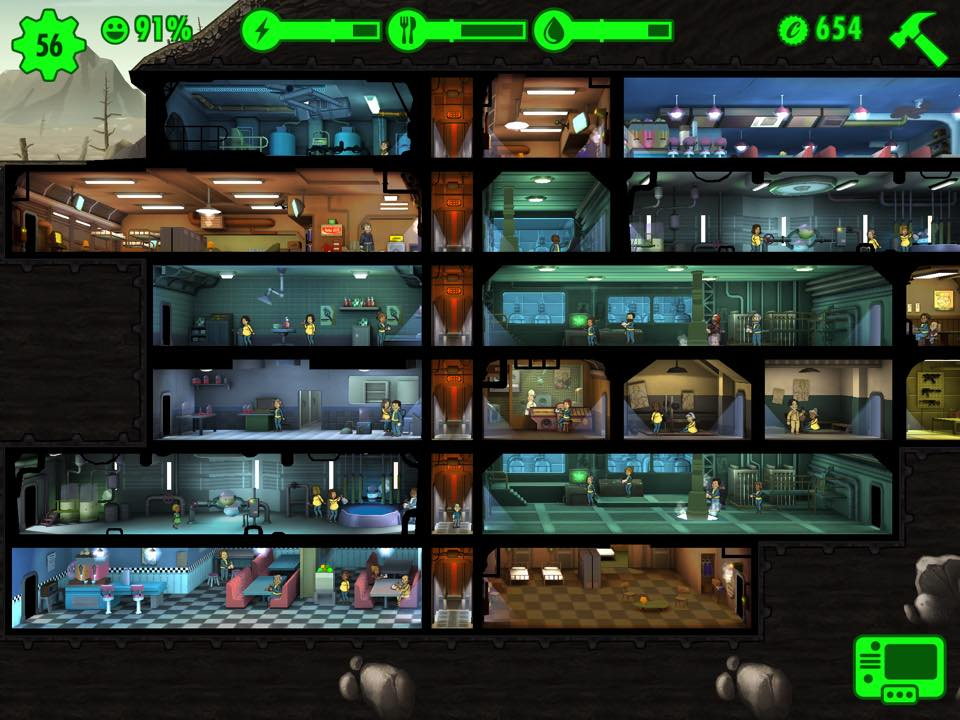 Bethesda 39 fallout shelter 39 and 39 fallout 4 39 developer for Build a room app