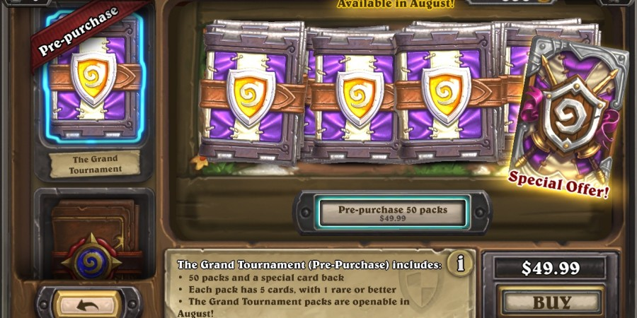 how to get more money in hearthstone
