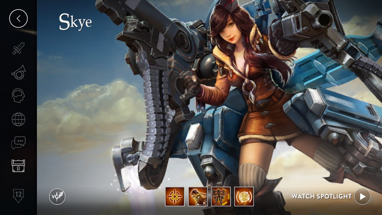 Vainglory Hero Build