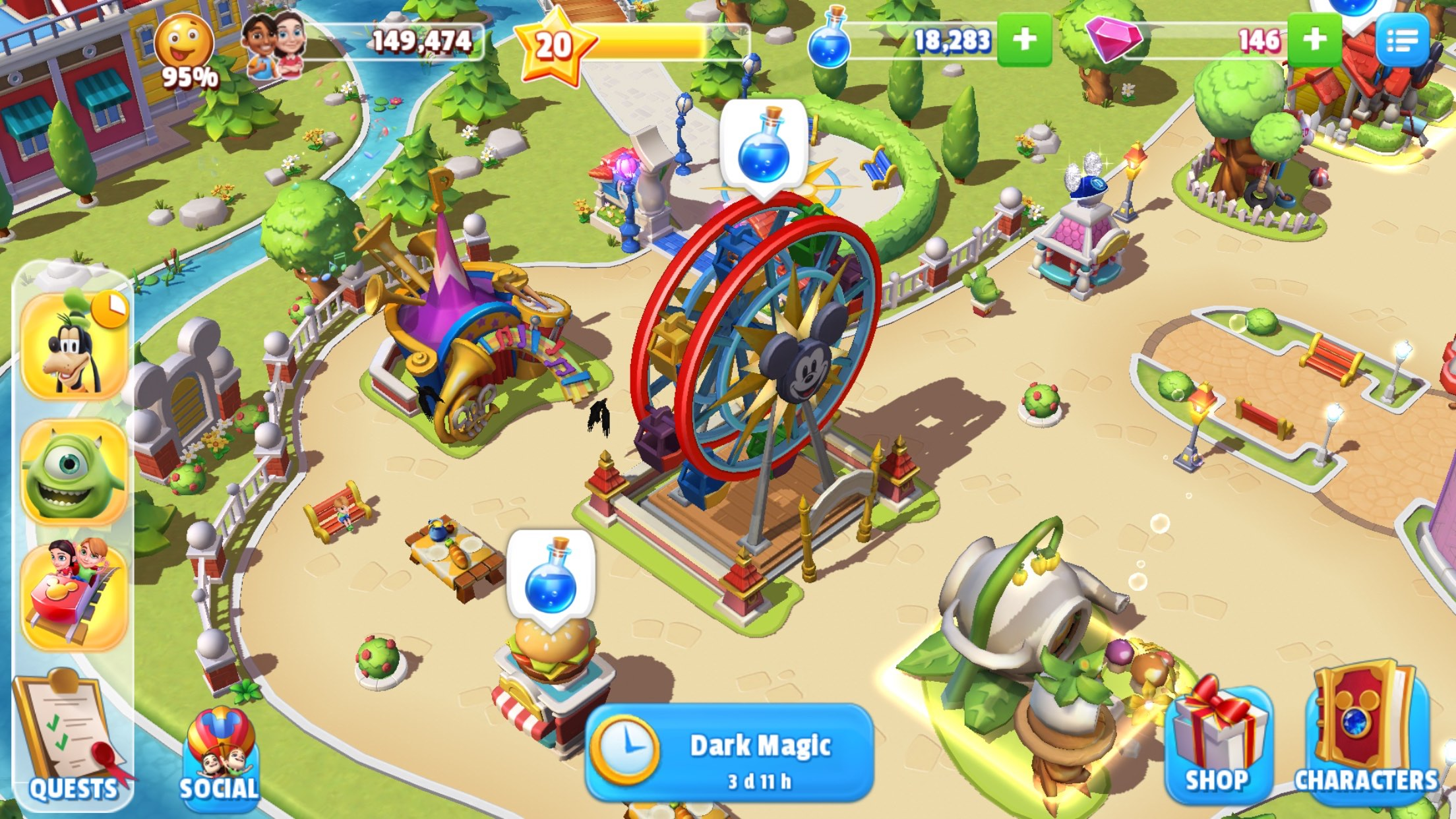 39 disney magic kingdoms 39 guide tips to build without for 3d setup builder