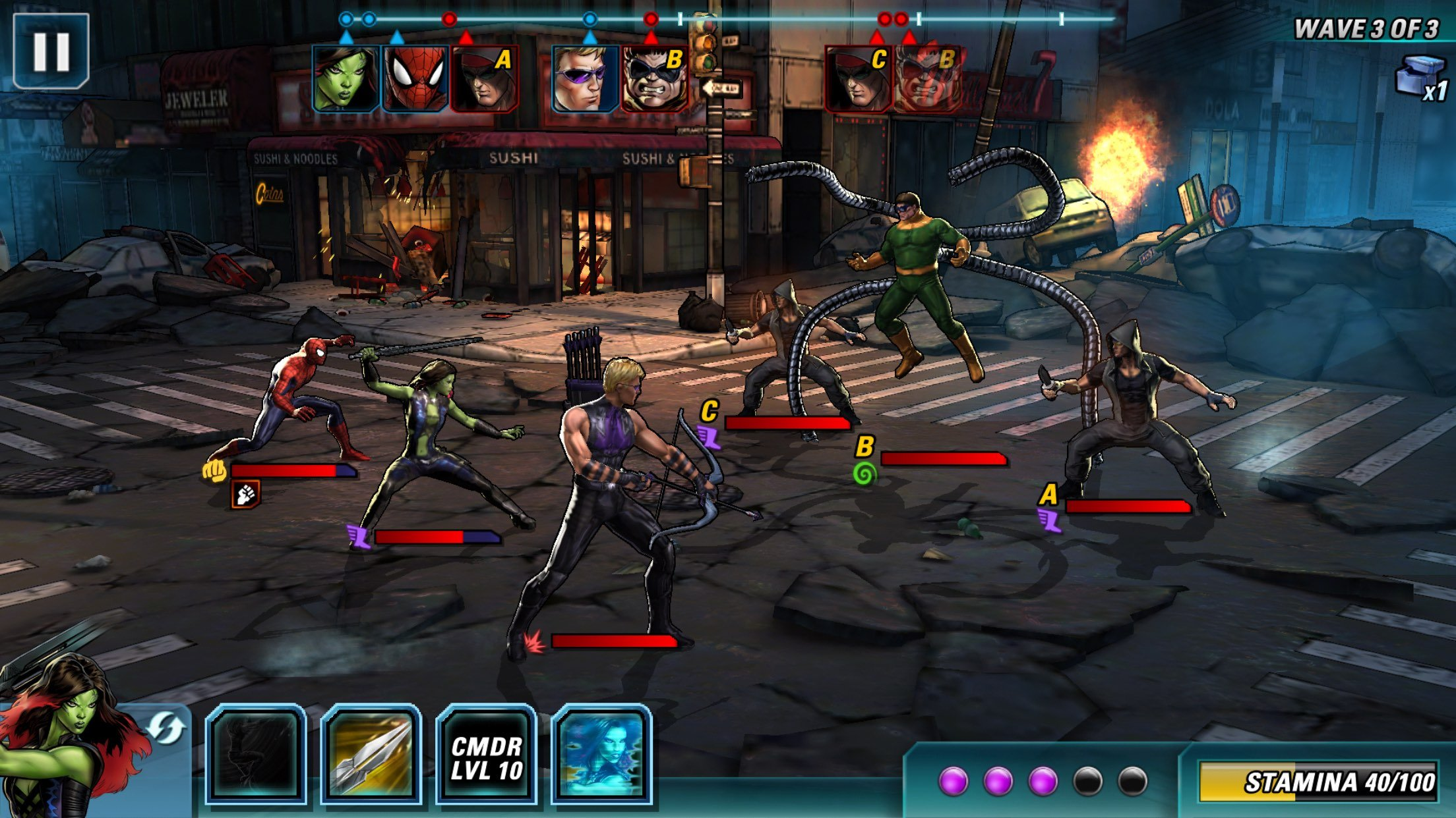 marvel avengers alliance 2 review toucharcade. Black Bedroom Furniture Sets. Home Design Ideas