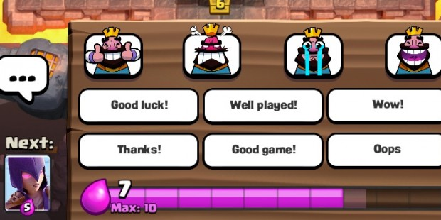 ... Doubles Down on Never Muting Emotes in 'Clash Royale' | TouchArcade
