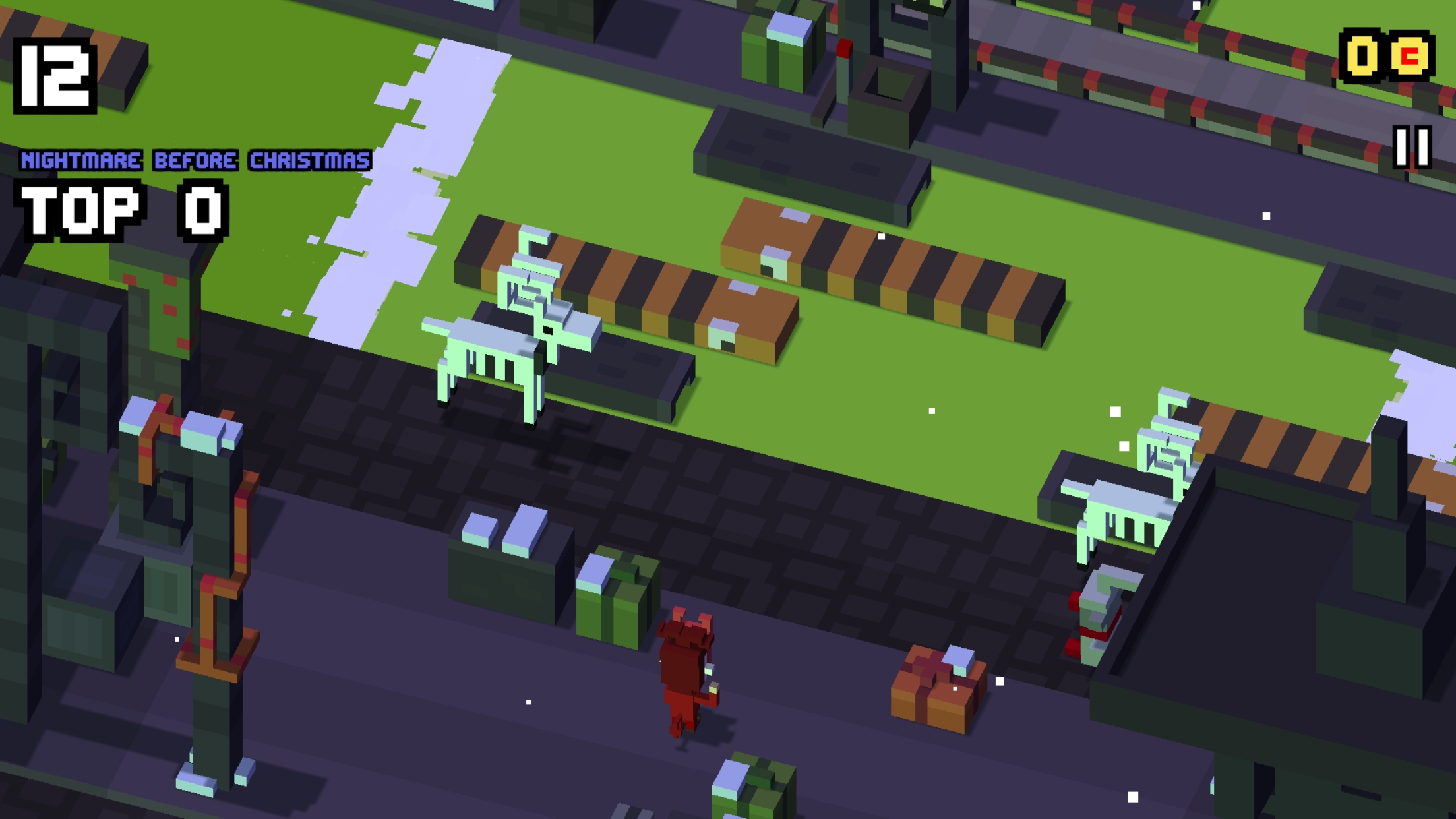 Disney Crossy Road Gets Nightmare Before Christmas
