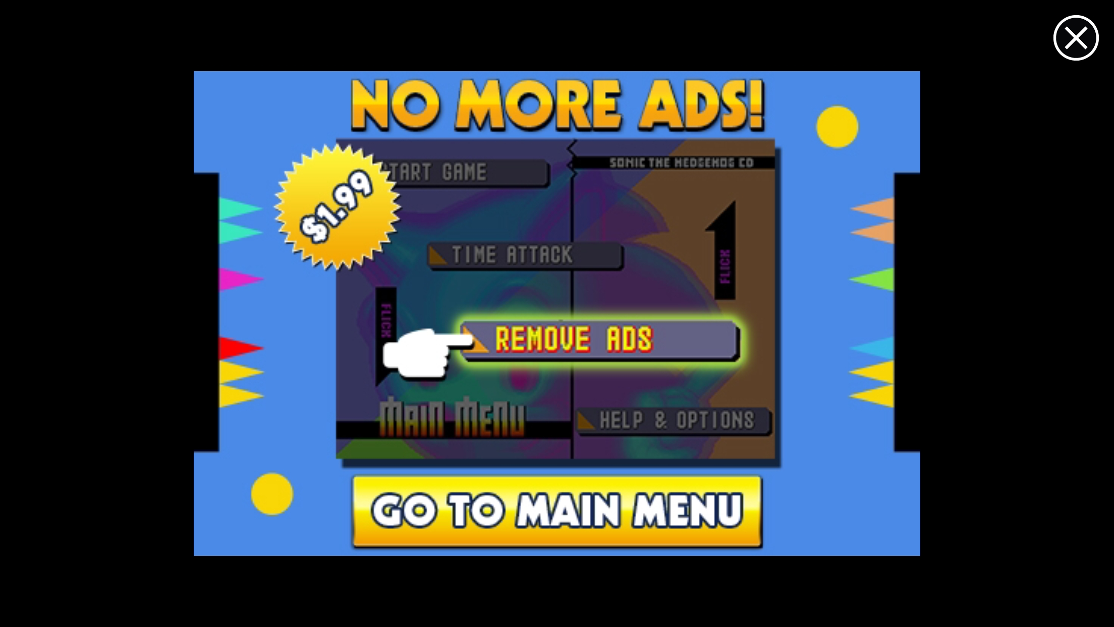 'Sonic CD' is Now Free with Ads, Even if You Bought the ...
