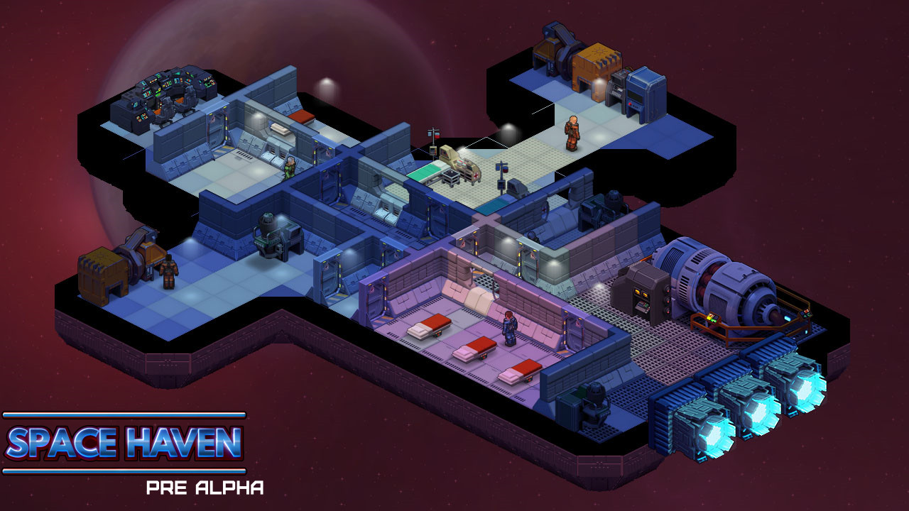 Space Haven Is A Spaceship Colony Building Game From The