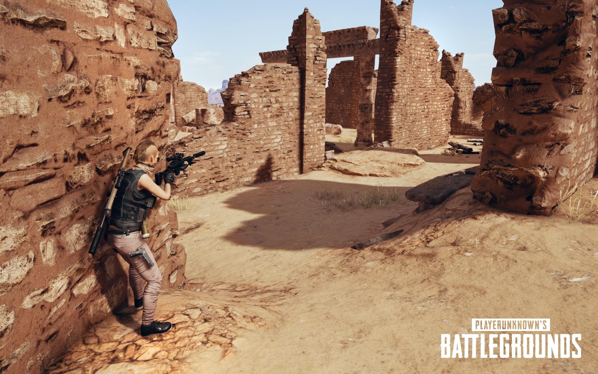 Playerunknown S Battlegrounds Maps Loot Maps Pictures: ''PlayerUnknown's Battlegrounds' Reveals Miramar Desert