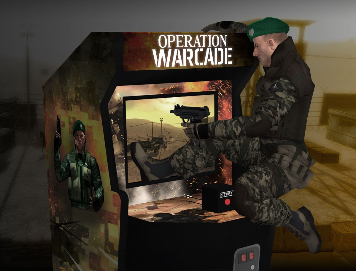 photo image 'Operation Warcade' is an 'Operation Wolf' Homage that Lets You Literally Step Inside the Game via ARKit, Coming this…