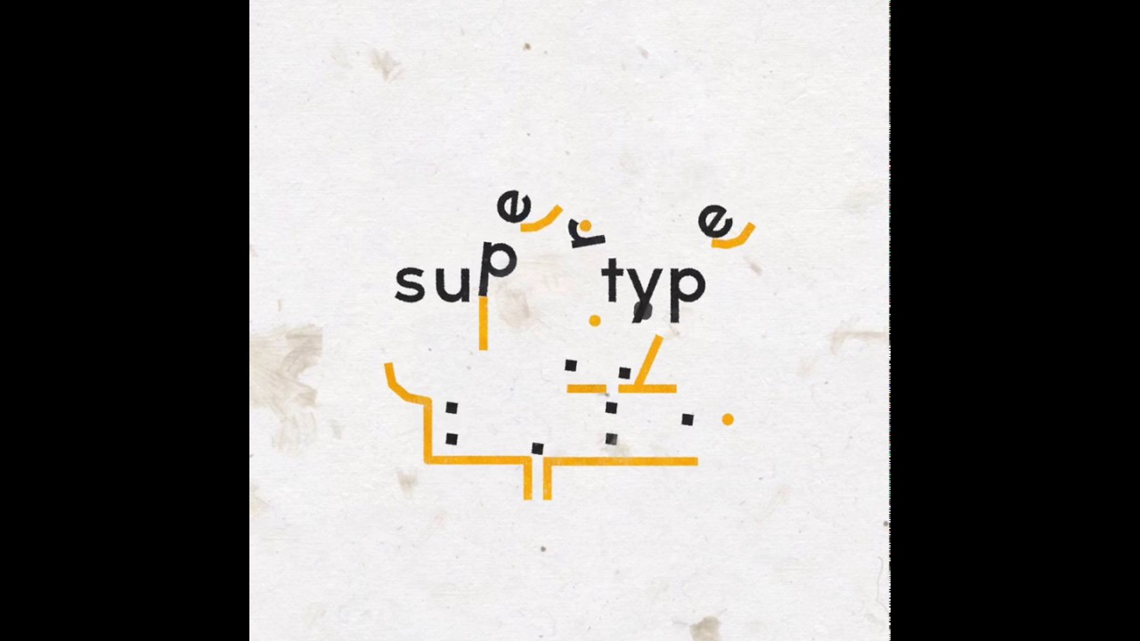 photo image 'Supertype' is a Neat Physics Puzzler that Uses the Alphabet, from the Maker of 'Zip–Zap' and 'Sometimes You Die'