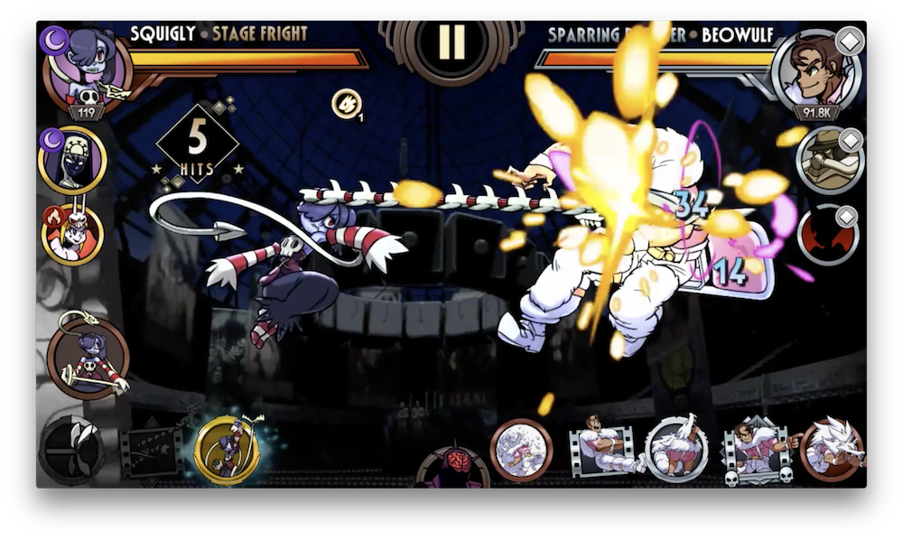 Squigly is Heading to 'Skullgirls Mobile', Check Out Our Exclusive Gameplay  Gifs of Her in Action | TouchArcade