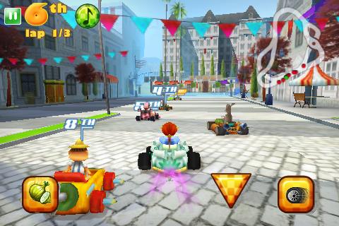 ShrekKart_Iphone_Screen_02 Shrek Kart da Gameloft para iPhone só 4,99