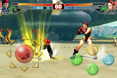 z__c______x__n__________ Street Fighter IV para iPhone/iPod Touch/iPad deverá receber a personagem Crismon Viper em breve
