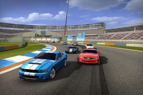 bella_shelby2 REAL RACING 2: novas imagens, trailer, detalhes e lista de carros divulgados (iPhone/iPod Touch/iPad)