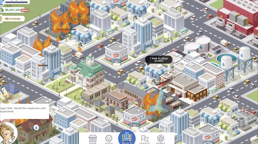 'Pocket City' Updated With Larger Map Options, iPhone XS Improvements, a New Structure, and More
