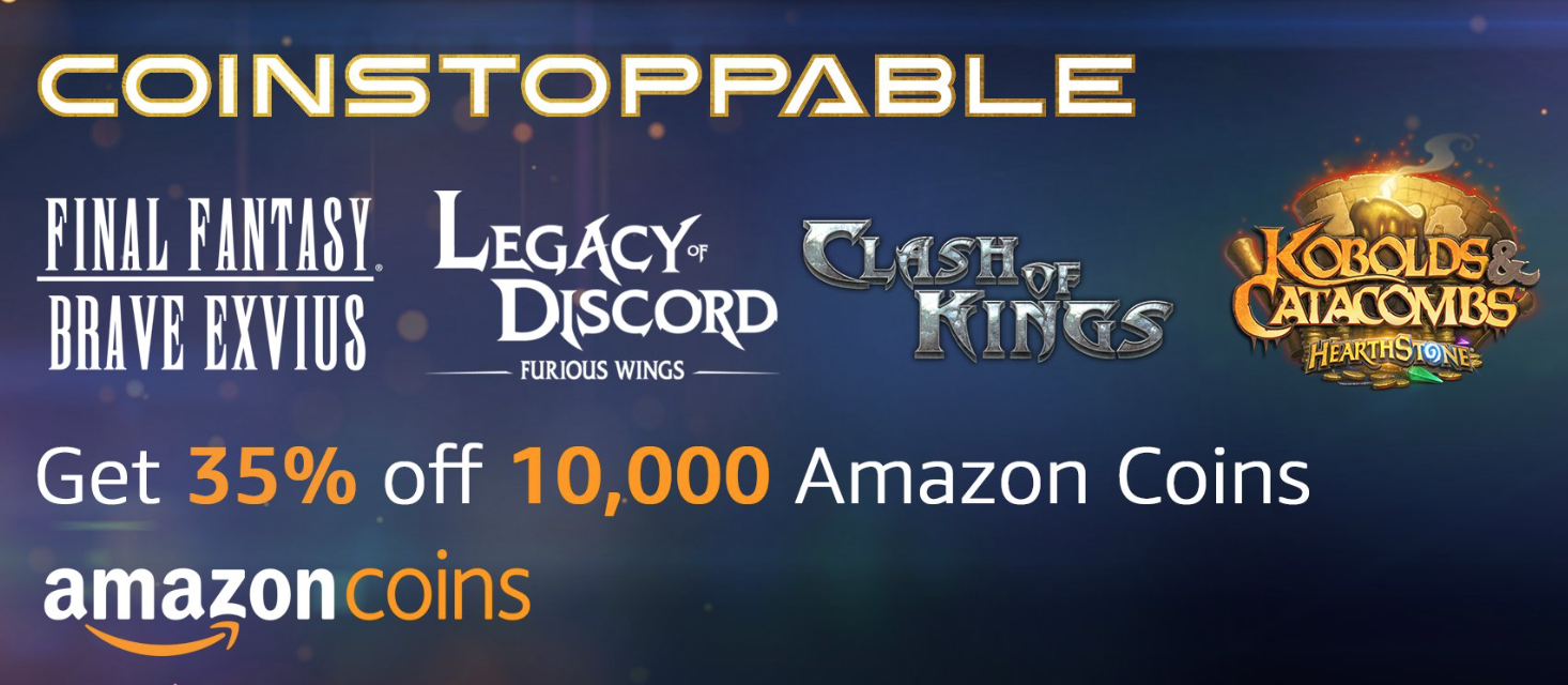 """Get 35% off Amazon Coins Ahead of """"Digital Day"""" Tomorrow – TouchArcade"""