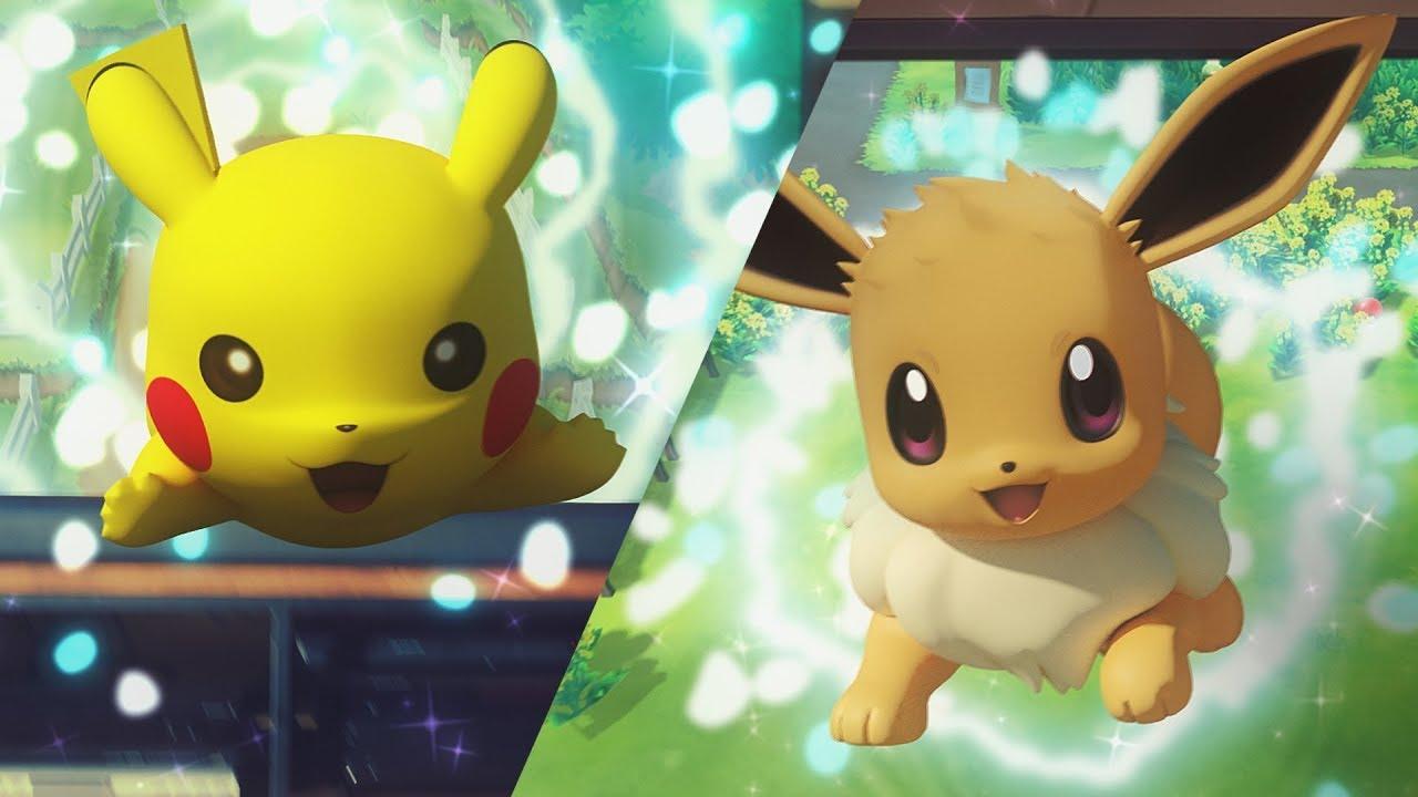 Pokemon: Let's Go, Pikachu' and 'Pokemon: Let's Go, Eevee' Announced