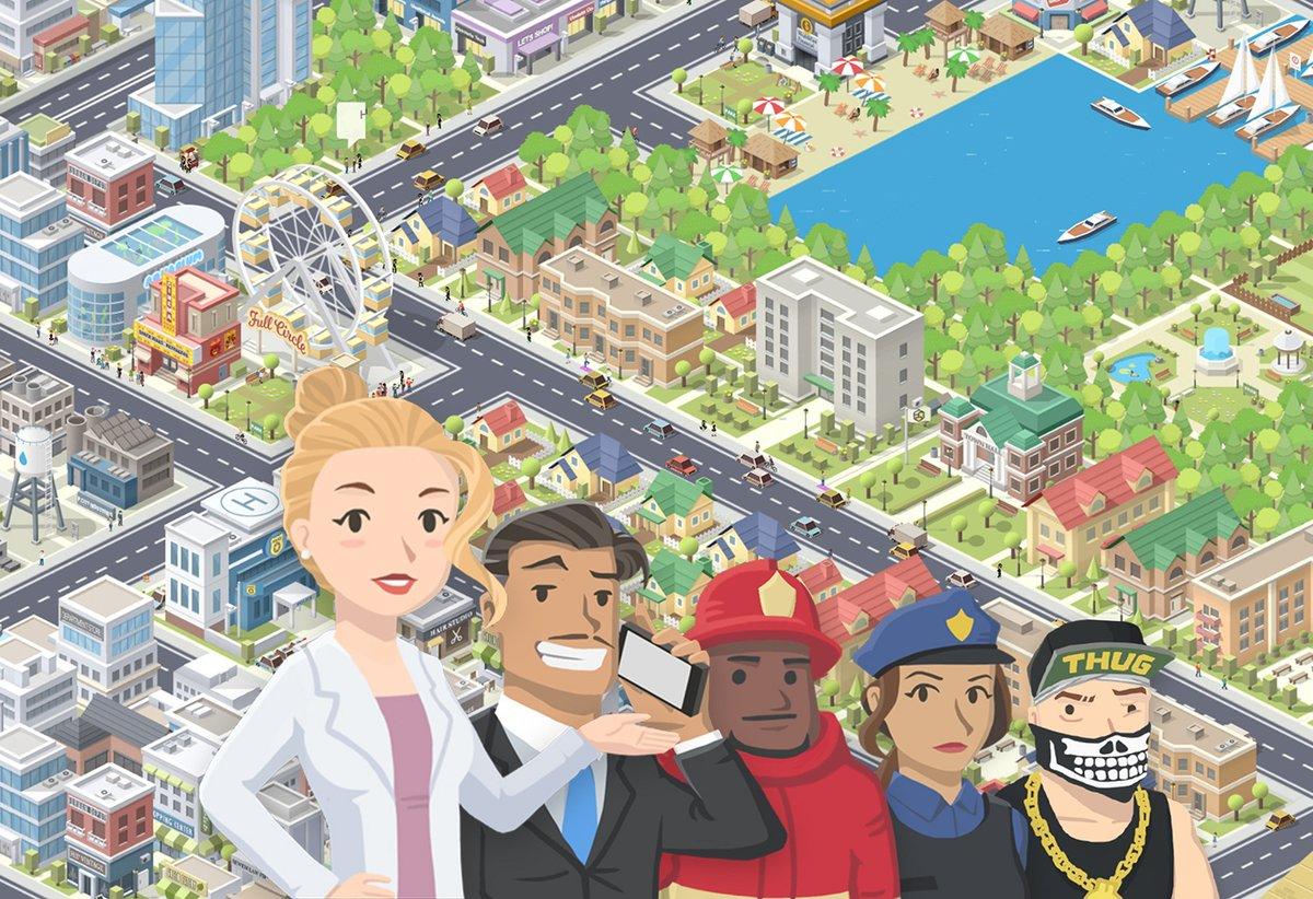 Pocket City apk android, pc et ios