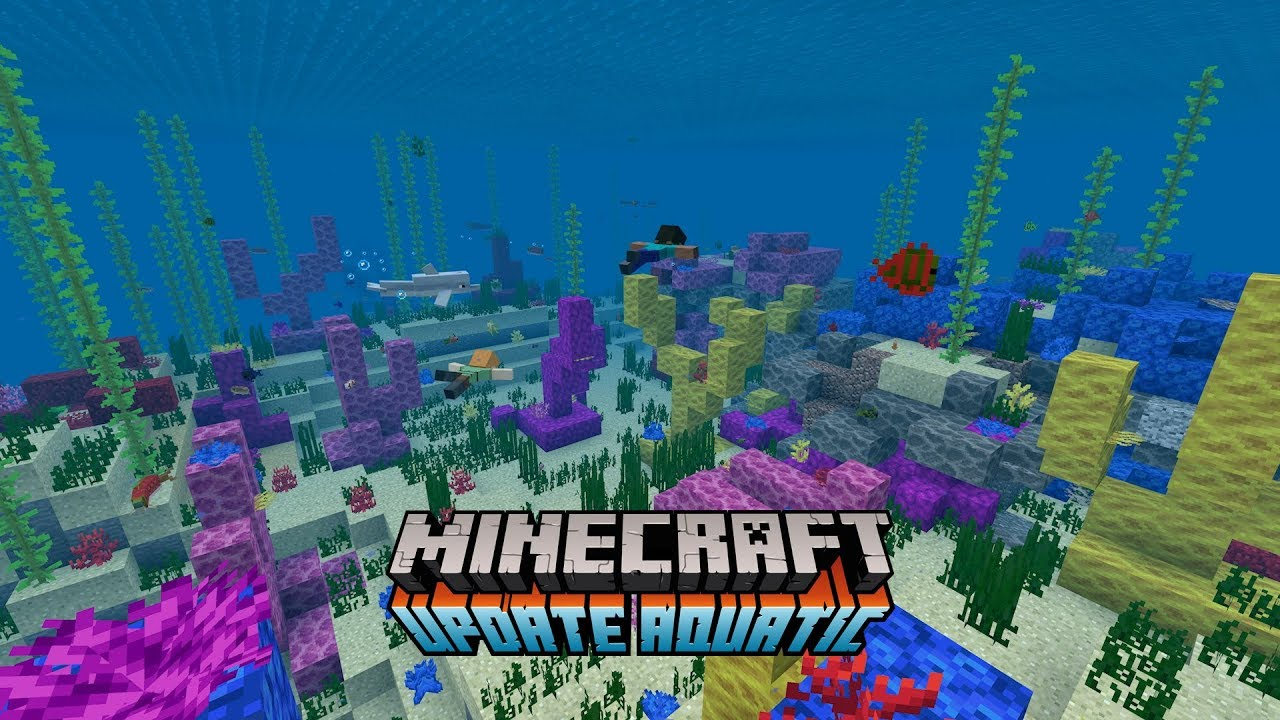 photo of The Final Phase of the 'Minecraft' Update Aquatic is Now Available image
