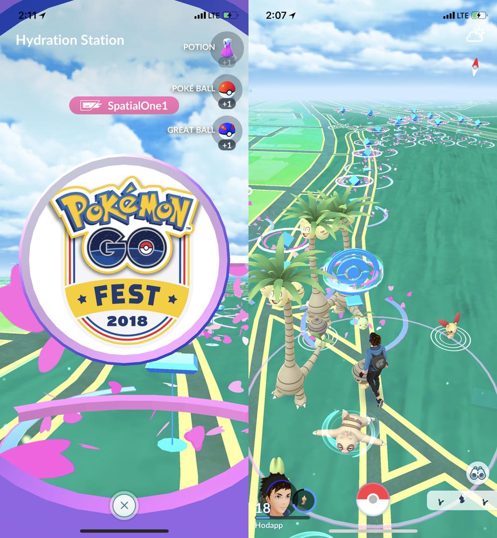 Pokemon GO Fest 2018: A Vast Improvement, but Still a Way to Go