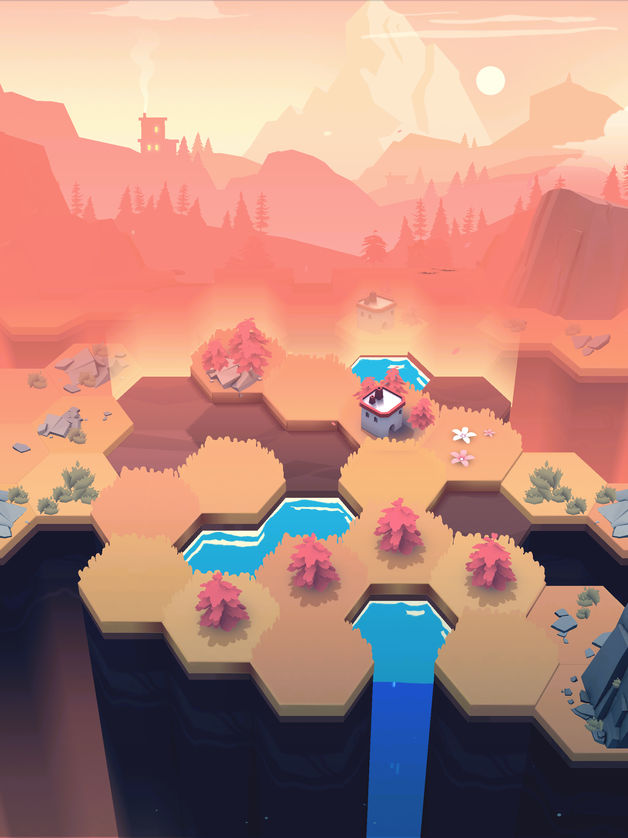 photo image Gorgeous Turn-Based Puzzler 'Valleys Between' Soft-Launches in Australia and New Zealand