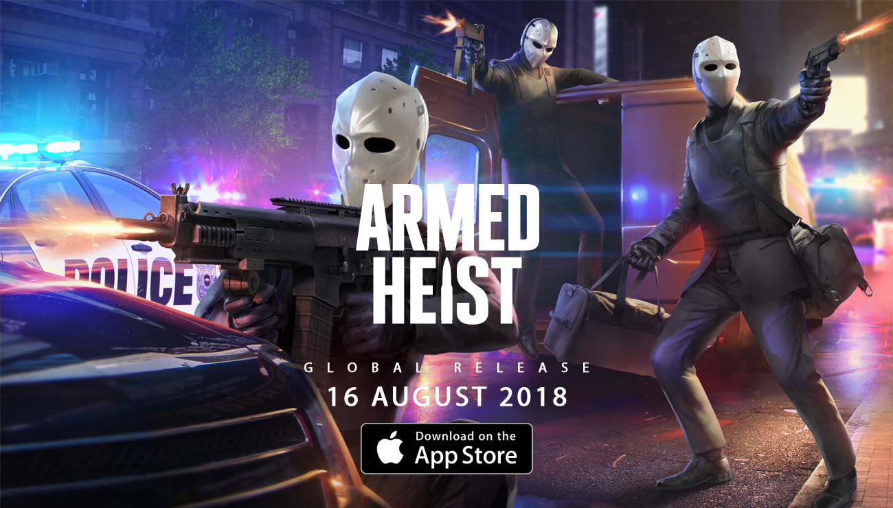 photo image Third-Person Cover-Based Shooter 'Armed Heist' Launching Globally August 16th