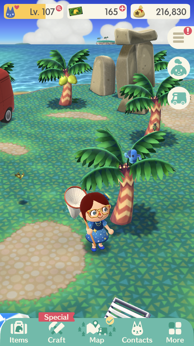 It's Time For a New Gyroidite Event, Essence in 'Animal Crossing: Pocket Camp'
