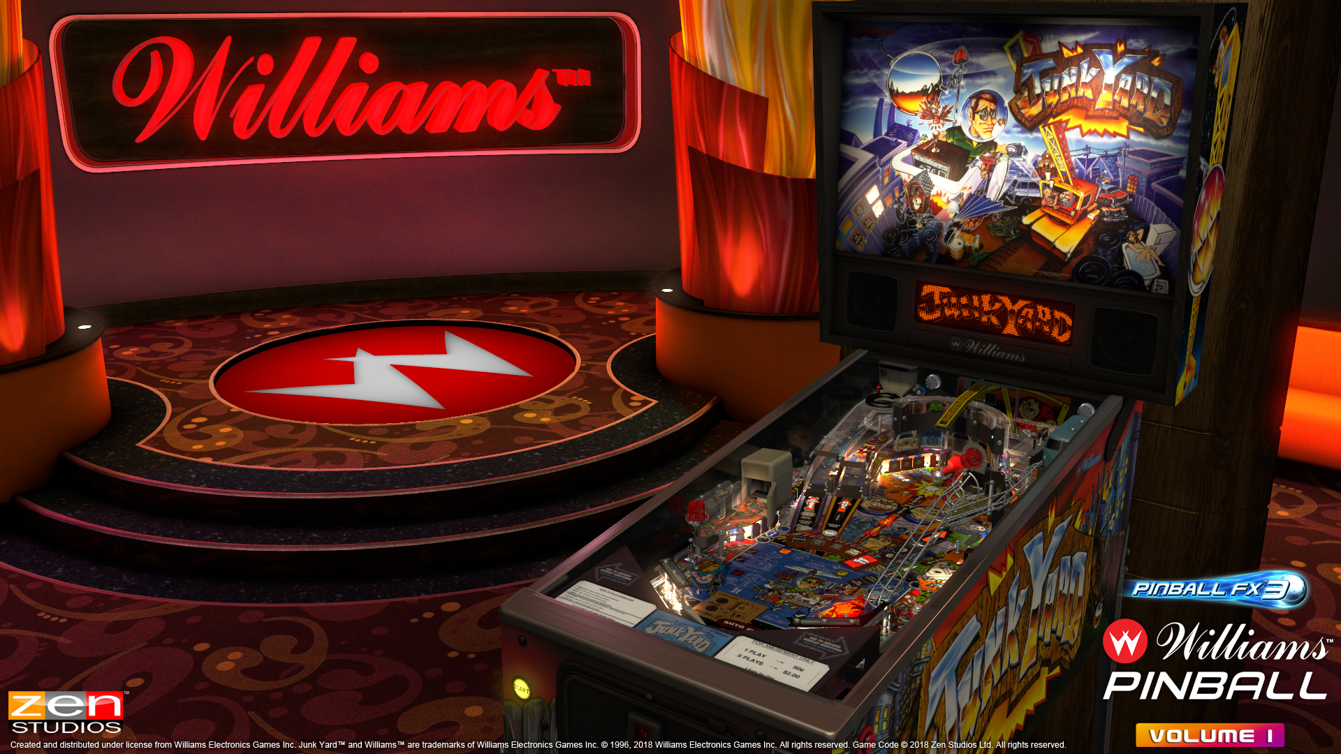 Zen Studios Has Licensed the Bally-Williams Pinball Library